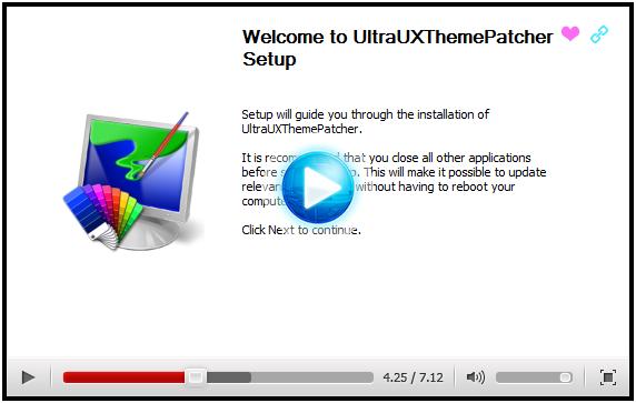 最新Windows主题破解通用补丁 UltraUxThemePatcher 3.4.1