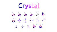 紫色水晶光标